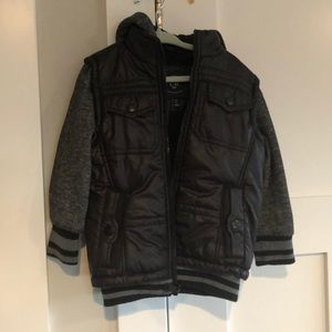 Boys moto jacket
